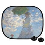 Promenade Woman by Claude Monet Car Side Window Sun Shade