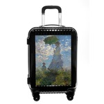 Promenade Woman by Claude Monet Carry On Hard Shell Suitcase
