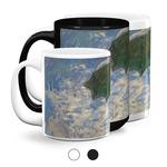 Promenade Woman by Claude Monet Coffee Mugs