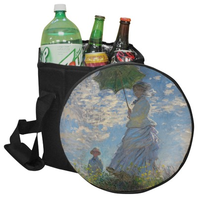 Promenade Woman by Claude Monet Collapsible Cooler & Seat