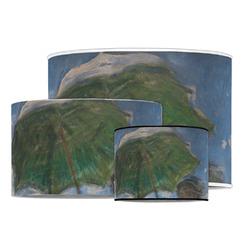 Promenade Woman by Claude Monet Drum Lamp Shade