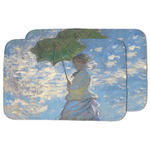 Promenade Woman by Claude Monet Dish Drying Mat