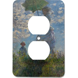 Promenade Woman by Claude Monet Electric Outlet Plate