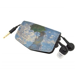 Promenade Woman by Claude Monet Genuine Leather Cord Wrap