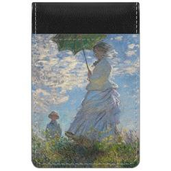 Promenade Woman by Claude Monet Genuine Leather Small Memo Pad