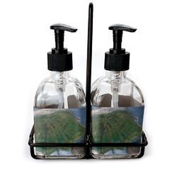 Promenade Woman by Claude Monet Soap & Lotion Dispenser Set (Glass)