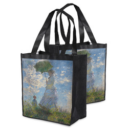 Promenade Woman by Claude Monet Grocery Bag
