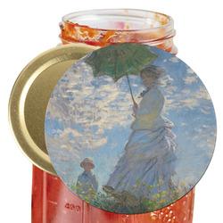 Promenade Woman by Claude Monet Jar Opener