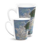 Promenade Woman by Claude Monet Latte Mug