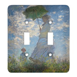 Promenade Woman by Claude Monet Light Switch Cover (2 Toggle Plate)