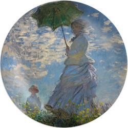 "Promenade Woman by Claude Monet Melamine Plate - 8"""