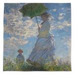 Promenade Woman by Claude Monet Large Microfiber Dish Rag
