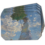 Promenade Woman by Claude Monet Dining Table Mat - Octagon