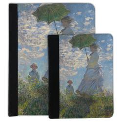 Promenade Woman by Claude Monet Padfolio Clipboard