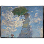 Promenade Woman by Claude Monet Door Mat