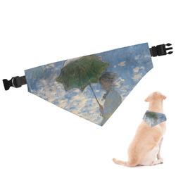 Promenade Woman by Claude Monet Dog Bandana