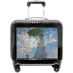 Promenade Woman by Claude Monet Pilot / Flight Suitcase
