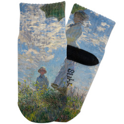 Promenade Woman by Claude Monet Toddler Ankle Socks