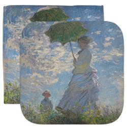 Promenade Woman by Claude Monet Facecloth / Wash Cloth