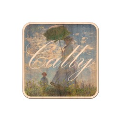 Promenade Woman by Claude Monet Genuine Maple or Cherry Wood Sticker
