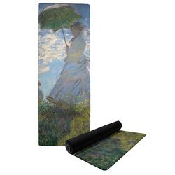 Promenade Woman by Claude Monet Yoga Mat