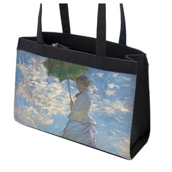Promenade Woman by Claude Monet Zippered Everyday Tote
