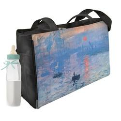 Impression Sunrise by Claude Monet Diaper Bag