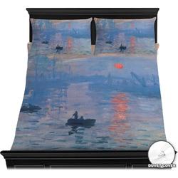 Impression Sunrise by Claude Monet Duvet Covers