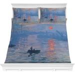 Impression Sunrise by Claude Monet Comforters