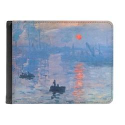 Impression Sunrise Genuine Leather Men's Bi-fold Wallet