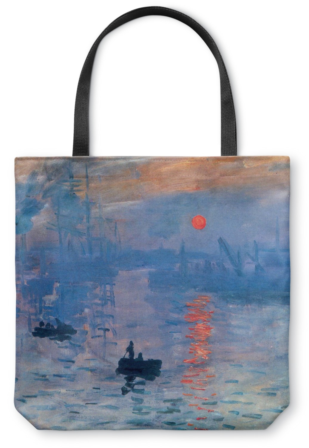 impression sunrise canvas tote bag large 18 x18 youcustomizeit. Black Bedroom Furniture Sets. Home Design Ideas