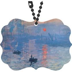 Impression Sunrise by Claude Monet Rear View Mirror Decor