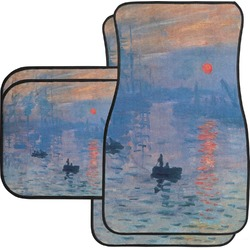 Impression Sunrise Car Floor Mats Set - 2 Front & 2 Back