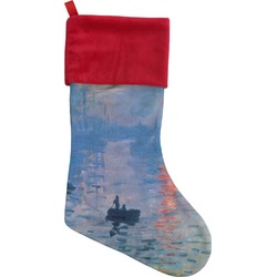 Impression Sunrise Christmas Stocking