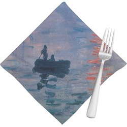 Impression Sunrise by Claude Monet Cloth Napkins (Set of 4)