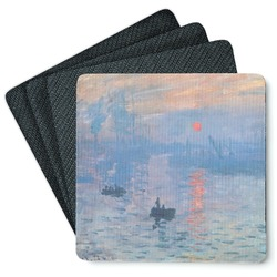 Impression Sunrise 4 Square Coasters - Rubber Backed