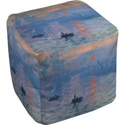 Impression Sunrise Cube Pouf Ottoman