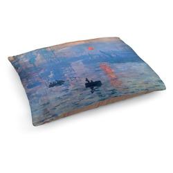 Impression Sunrise by Claude Monet Dog Bed