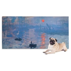 Impression Sunrise by Claude Monet Dog Towel