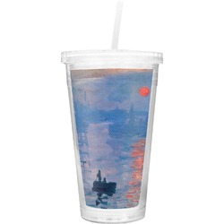 Impression Sunrise Double Wall Tumbler with Straw