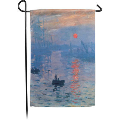 Impression Sunrise by Claude Monet Garden Flag - Single or Double Sided