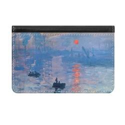 Impression Sunrise Genuine Leather ID & Card Wallet - Slim Style