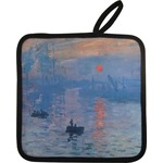 Impression Sunrise by Claude Monet Pot Holder