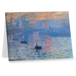 Impression Sunrise by Claude Monet Note cards