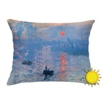 Impression Sunrise Outdoor Throw Pillow (Rectangular)