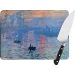 Impression Sunrise Rectangular Glass Cutting Board