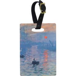 Impression Sunrise Rectangular Luggage Tag
