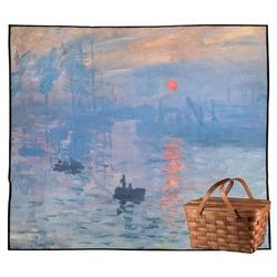 Impression Sunrise Outdoor Picnic Blanket