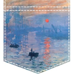 Impression Sunrise Iron On Faux Pocket