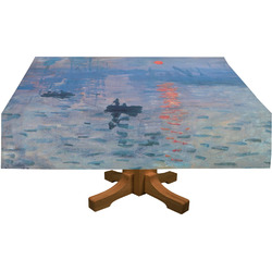 Impression Sunrise by Claude Monet Tablecloth